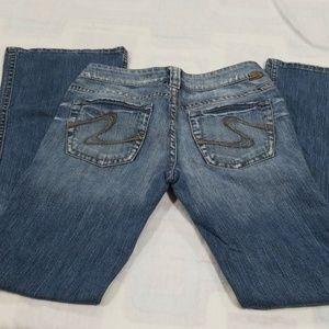 69cd6cf5 Women's Silver Jeans Frances on Poshmark